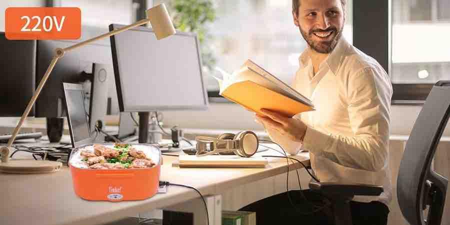 comprar una fiambrera electrica para comer en el trabajo