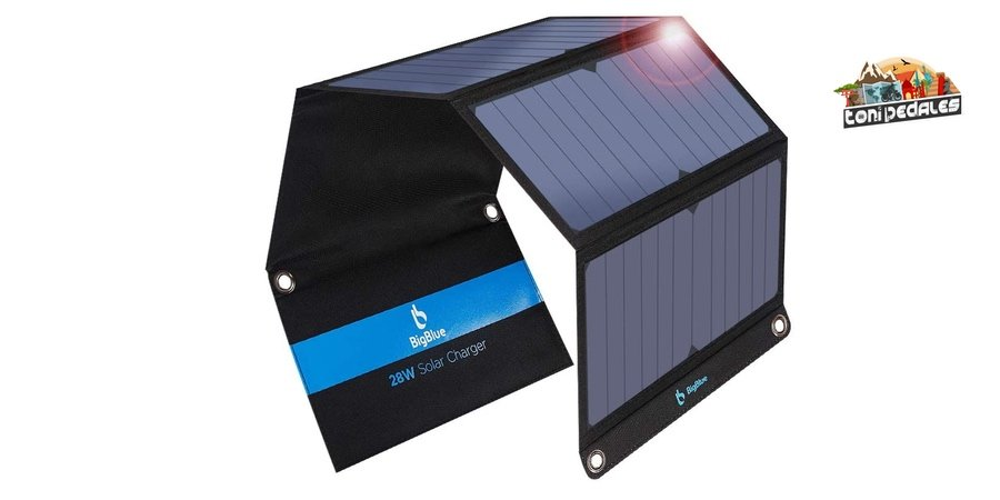 Comprar cargador solar Bigblue en Amazon