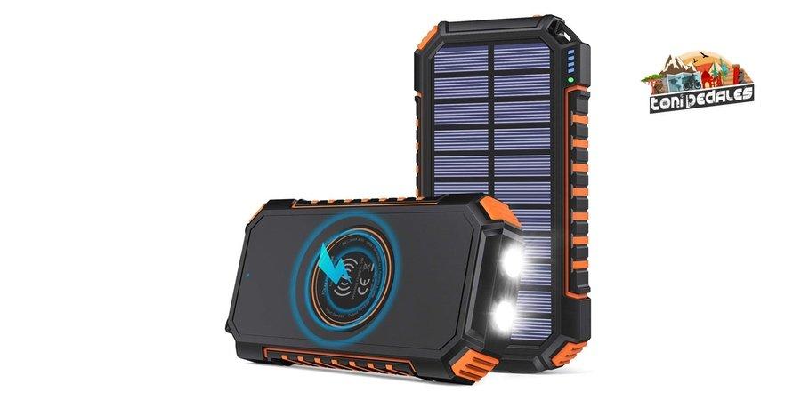 Comprar cargador solar Hiluckey en Amazon