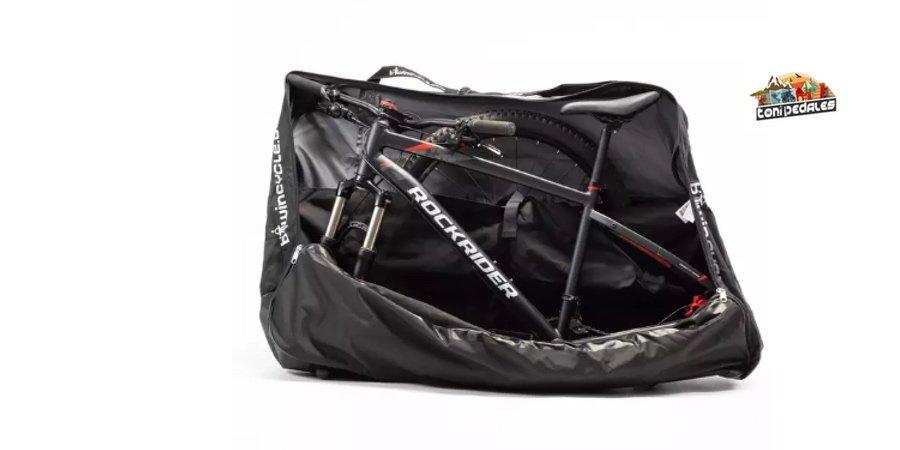 Comprar bolsa transporte bicicletas Decathlon, bolsa transporte bicicleta decathlon
